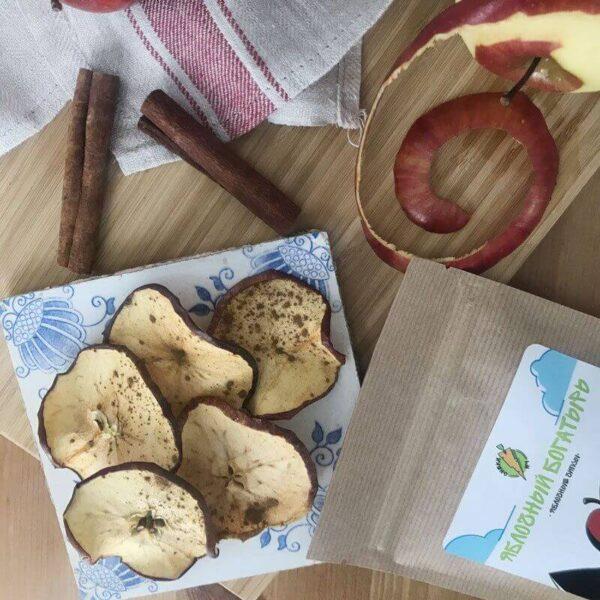 Яблочные Чипсы «Яблочный Богатырь» - СНЕКИ №1