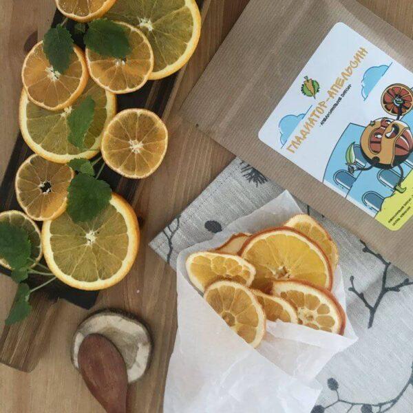 Апельсиновые чипсы Гладиатор Апельсин - СНЕКИ №1