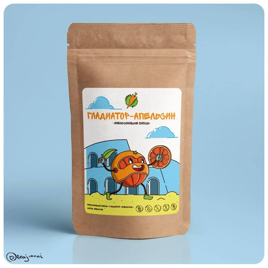 Апельсиновые Чипсы - СНЕКИ № 1