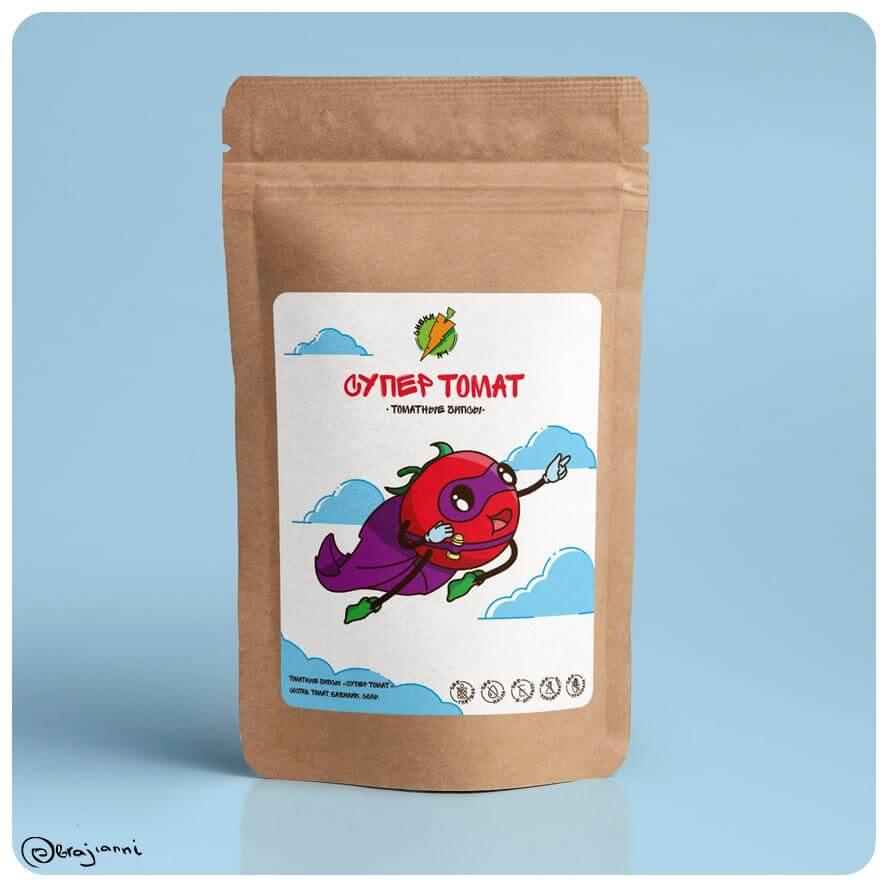 Томатные чипсы Супер томат - СНЕКИ № 1