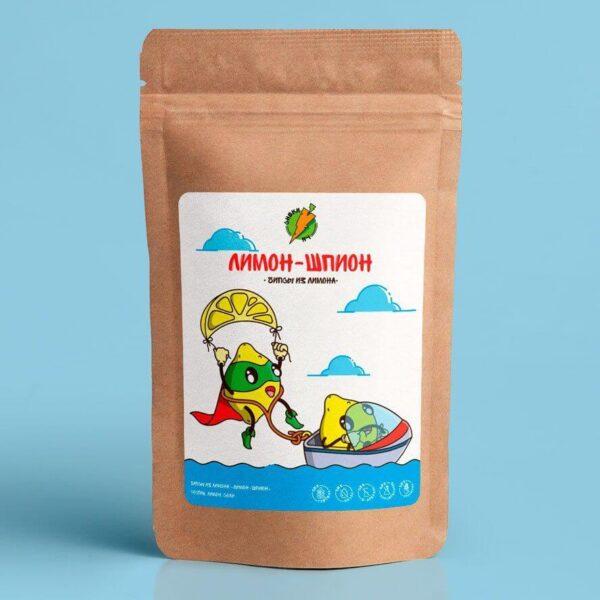 """Лимонные Чипсы """"Лимон-Шпион"""" - чипсы из лимона СНЕКИ №1"""