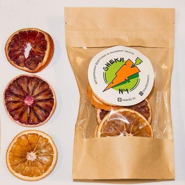 Апельсины сушеные (красные), 30 г