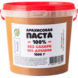 Арахисовая паста острая с перцем чили 1000 грамм