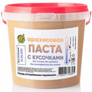 Арахисовая паста в банке 1000 грамм